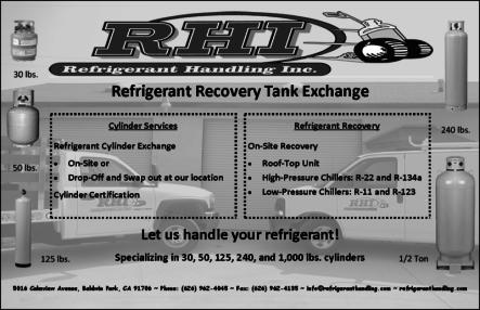 refrigerant equipment
