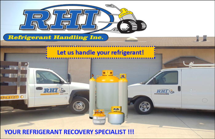 Your Refrigerant Recovery Specialist