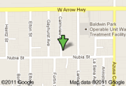 Baldwin Park Google Map